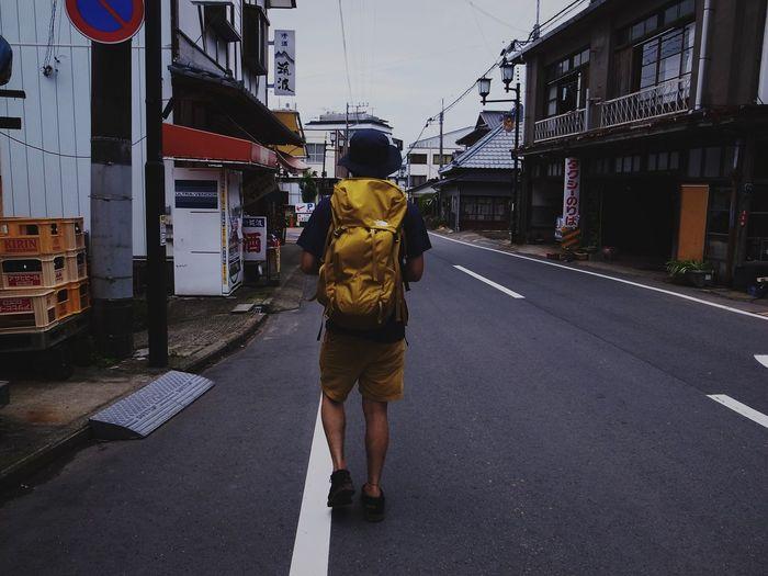 Trekking Thenothface Yellow