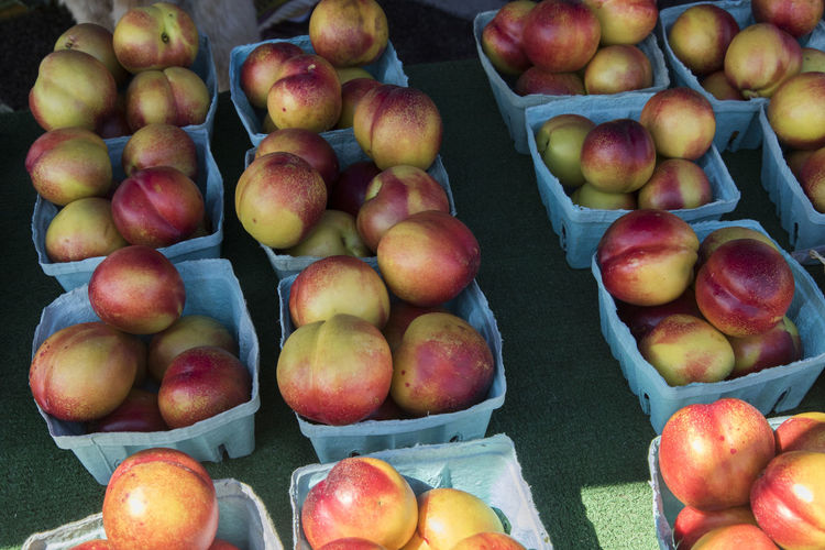Close-up of apples for sale