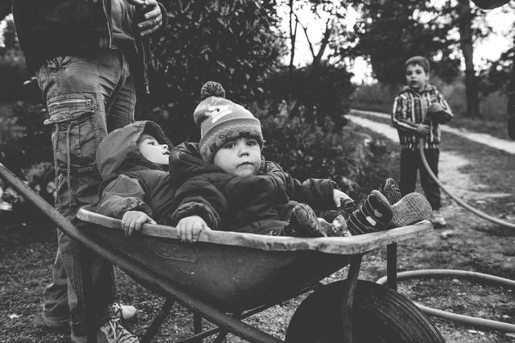 No Wifi, no electronic device, everything just like in the old days. Childhood like in the good ol' days... ;) Childhood Children Forrest Green Color Green Forrest No Electricity No Wifi The Great Outdoors - 2017 EyeEm Awards The Photojournalist - 2017 EyeEm Awards The Portraitist - 2017 EyeEm Awards Black And White Friday Focus On The Story