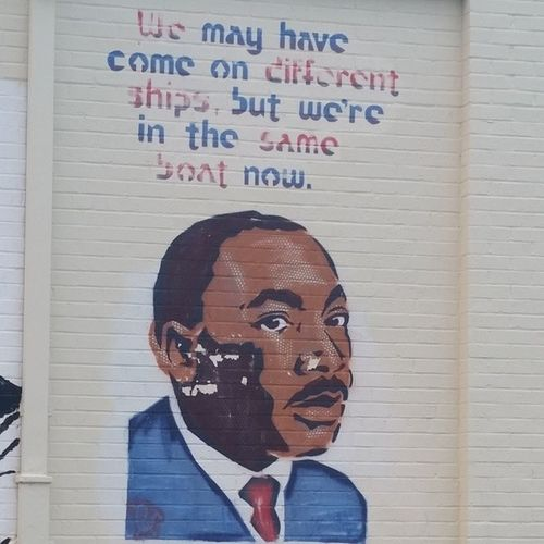 MLK Graffiti Quotes Austin texas