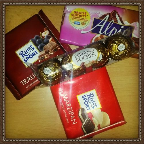 Thanks for the Presents Chocolate Pralines