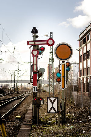railway signals Colors Composition Confusing Green And Red Information Perspective Railroad Railroad Love Railroad Signals Railroad Station Railway Railway Signals Railway Station Sign Sky Stop Sign Transportation