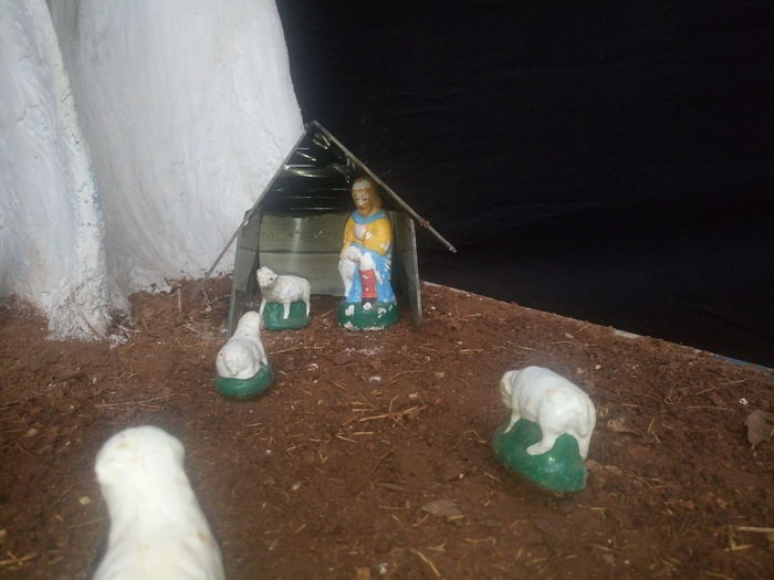 Christmas Collection Crib Day Merry Christmas Merry Christmas Eve! Merry Christmas! Nativity Church Nativity Figurine Nativity Scene No People Outdoors Paint Can Traveling Home For The Holidays
