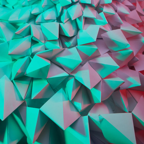 net, network, work, communication, connection, dynamism, abstract, background, abstract background, mobile, contrast, close-up, lines, curves, red, pink, green, light green, complementary, contrasting, triangle, paper, minimalism, pyramid, pyramids Abstract Backgrounds Abstract Minimalism Triangle Shape Triangle Pyramid Shape Pyramid Fashion Blue Turquoise Pink Pink Color Green Green Color Design High Angle View Craft Close-up Still Life Indoors  No People Backgrounds Multi Colored Pattern Full Frame Large Group Of Objects Paper Creativity Art And Craft Indoors  Abundance Shape Directly Above Geometric Shape Repetition