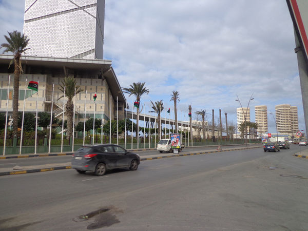 Board Day Hotel Libya No People Outdoors Road Sky Tower Tripoli