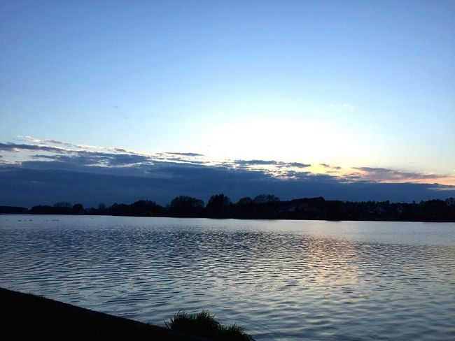 Dark Clouds Clouds Blue Sky Water Lake Follow Likeforlike Followme Like4like Follow4follow Spring