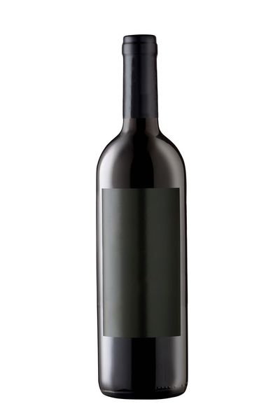 Wine bottle isolated on white background Paper Glass - Material Frontal View Full Isolated On White One Object Black Label Blank Label Bottle Container Drink White Background Wine Bottle Studio Shot Refreshment Cut Out Alcohol Food And Drink Wine Single Object Glass - Material Red Wine Household Equipment Food Copy Space Drinking Glass Blank