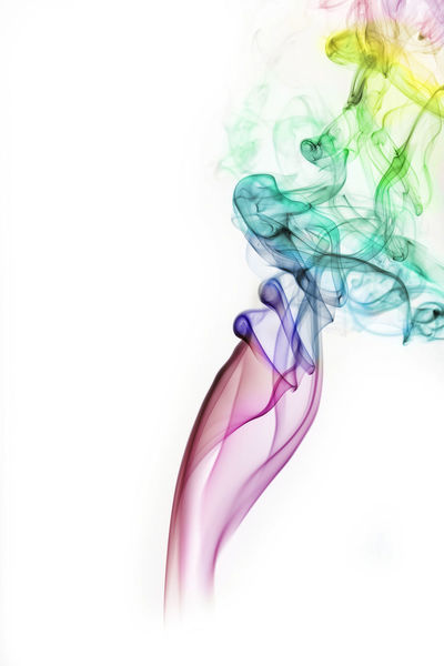 Colors on White- This is a studio photo of abstract smoke art. Its a process of photographing smoke using off camera flash and then post processing in lightroom and photoshop, to make this soft colorful abstract art Abstract Art, Drawing, Creativity Blue Close-up Colors Flower Flower Head Fragility Green Nature No People Petal Pink Color Purple Red Selective Focus Simplicity Still Life Studio Shot This Week On Eyeem Two Objects White White Background Yellow