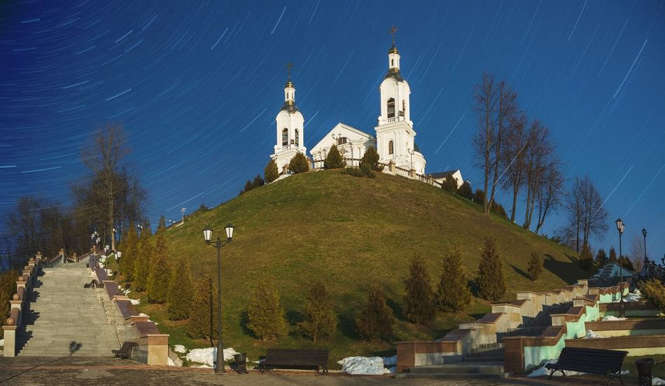 From My Point Of View By Ivan Maximov Eyeem Photo The Week On EyeEm Cathedral Sky Landscape Cityscape Belarus City Vitebsk,Belarus Panoramic View Great Outdoors EyeEm Selects Religion Night Tree Spirituality Place Of Worship History Sky Outdoors Architecture No People Blue Star - Space Travel Destinations Statue Astronomy Politics And Government Galaxy Go Higher The Street Photographer - 2018 EyeEm Awards The Great Outdoors - 2018 EyeEm Awards