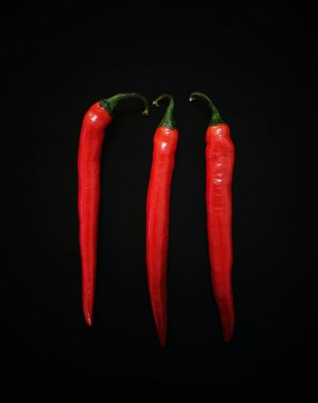 Eyeem Philippines Chilli Hot Red Red Black Background Vegetable Red Bell Pepper Pepper - Vegetable Studio Shot Healthy Eating Freshness Food Close-up No People