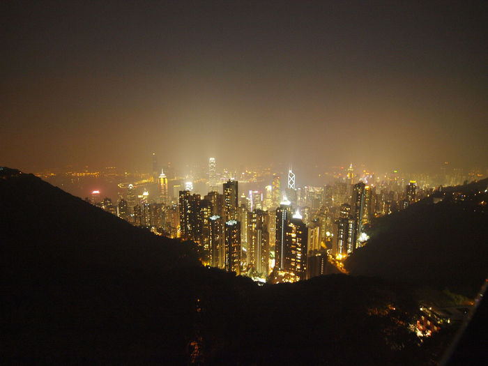Cityscape Hong Kong HongKong Illuminated Modern Night Shoot  Sky Travel Travel Destinations Travel Photography Travel Photos Urban Skyline