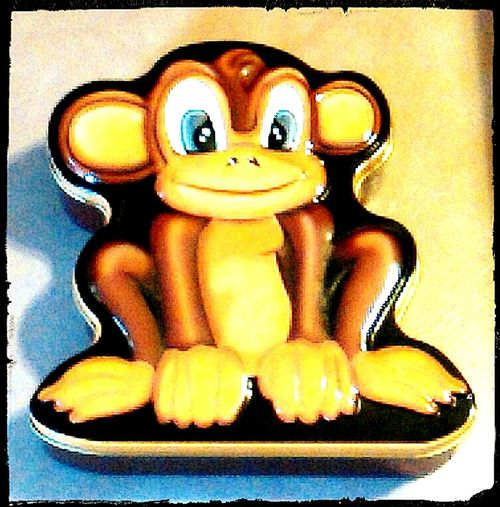 Metal Tins Monkeys Chimpanzee Tin Collection Monkeying Around WTF? Monkey Business Collectable Items Check This Out Metal Tin Tin Tins Collectables ArtWork Monkeybusiness  Monkey Monkeyface Monkey Face Chimp Monkeyingaround Metaltin Metaltins Not Strange To Me What The F**k Is This? WTF
