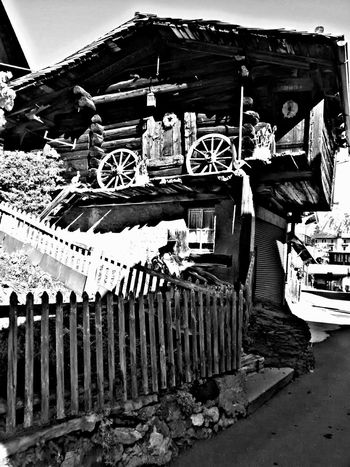 HDR Hdr_Collection Blackandwhite Bw Photography Old Buildings Switzerland