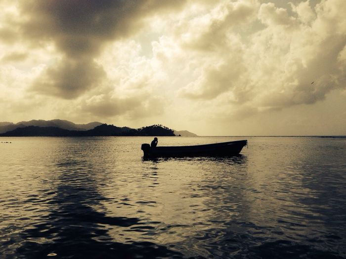 The Calmness Within Timeless Caribbean moment in Isla Grande, Colon Taking Photos Enjoying Life Sunset Silhouettes