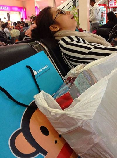 Too Much Shopping Will Kill You