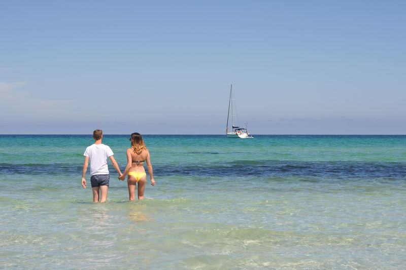 Take time to appreciate those you love. Enjoy time together... before it is too late Sardegna Sardinia Yacht Holidays Vacations Relationship Love Sea Water Sky Horizon Over Water Real People Horizon Leisure Activity Rear View Beach Beauty In Nature Togetherness Two People Nature Positive Emotion Lifestyles