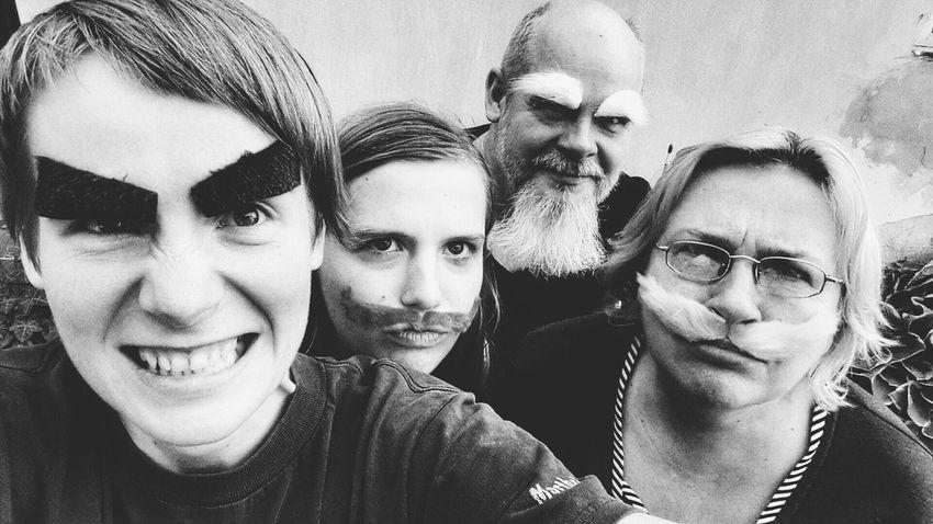 Kofola  Drinking Kofola Mustage Family People Selfie Eyebrows Funny Blackandwhite