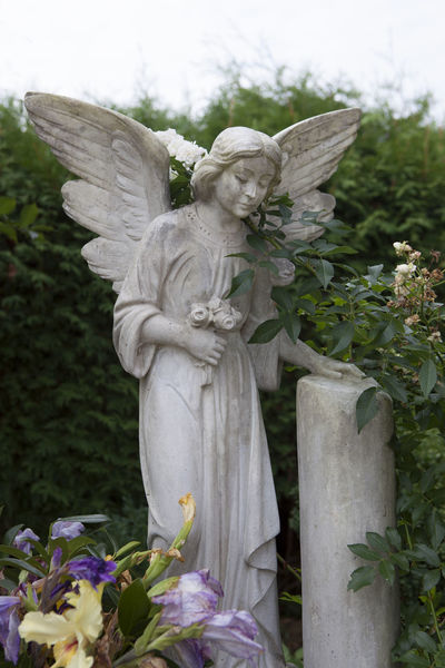 All Saints Day Angel Cemetery Day Flower Grave Grave Grave Decoration Grave Decorations Graveyard Grief No People Outdoors Religion Religion And Beliefs Religion And Tradition Statue Tombstone