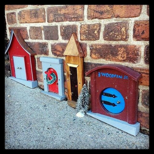Doors Fairy Door Troll Doll City Street