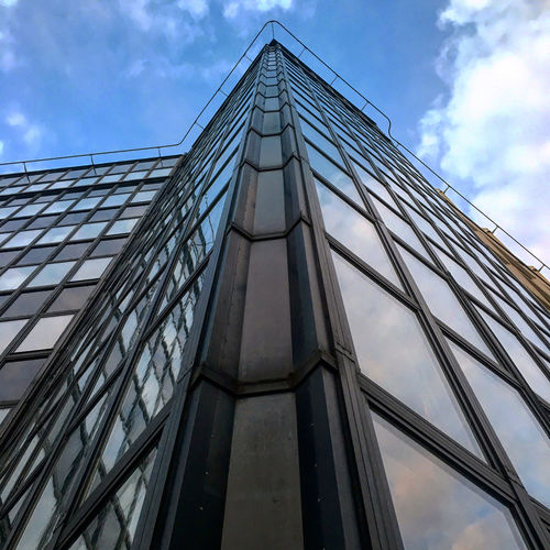 Low Angle View Built Structure Architecture Building Exterior No People Office Building Exterior Modern City Building