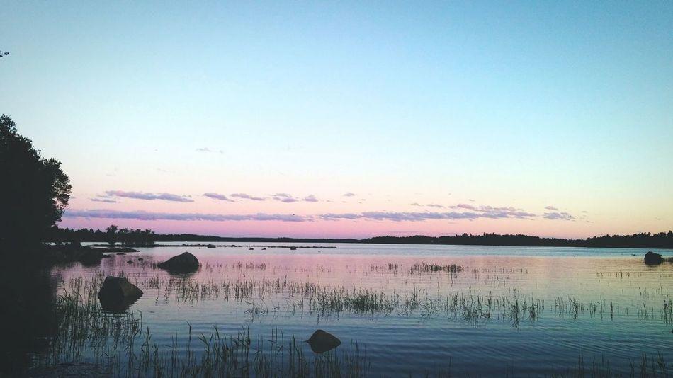 LastNight Sunset Finland Sea And Sky