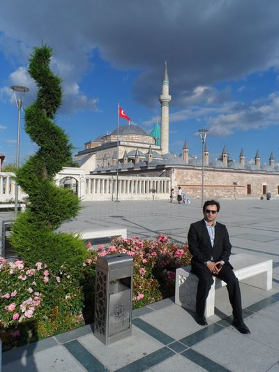 Taking Photos That's Me Hello World Mevlana Mosque