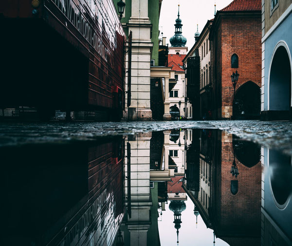 Ghost Town Architecture Built Structure Building Exterior Water Reflection Building Waterfront City Puddle Canal Day Nature Outdoors Incidental People Residential District Street The Past Alley EyeEm Best Shots EyeEmNewHere EyeEm Selects Eyem Gallery EyeEm Photography