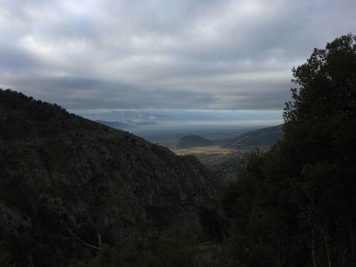 Sky Cloud - Sky Beauty In Nature Nature Mountain Landscape Tree Scenics Tranquil Scene