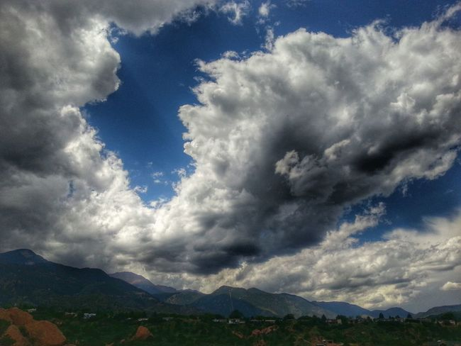 Colorado Springs, CO. Cloudporn Sky And Clouds Nature Mountains