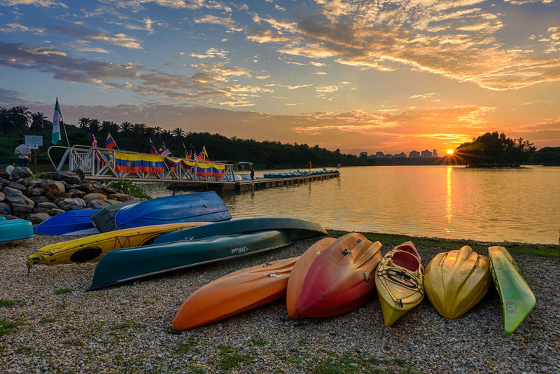 A Walk In The Park Aroundtheworld ASIA Boats Capture The Moment Check This Out Enjoying The Sun Explore Flags Hello World Image Jetty Lake Malaysia Park Putrajaya Relaxing Snapshots Of Life Sunset Taking Photos Tourism Traveling Visitmalaysia2014 Water Wonderful Place