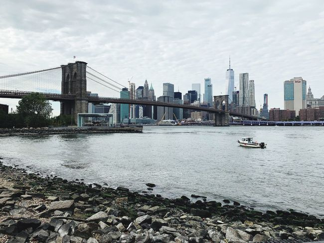 Brooklyn New York Built Structure Sky City