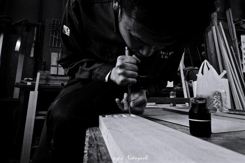 Joinery craftsmen HIDE Joinery Craftsman 日本 福井 Fukui Japan Fujifilm X-E2 Monochrome Friends