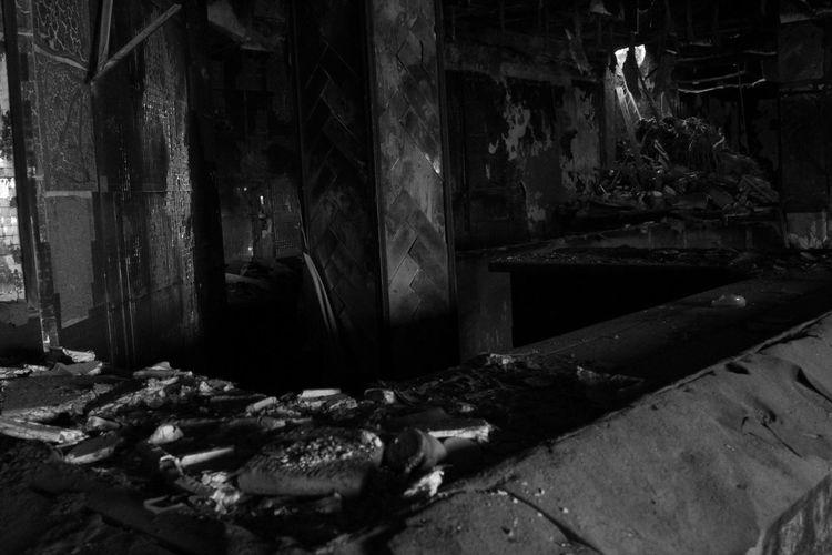 3XSPUnity Abandoned Abandoned Buildings Abandoned Places Blackandwhite Blancoynegro Byw Construction Day Destruction Indoors  No People