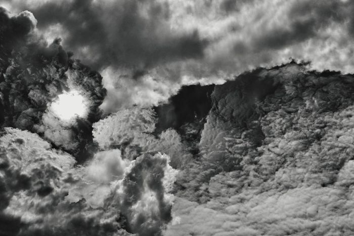 Abstract Clouds 5 on 15 Nov 17. Cloud - Sky Nature No People Outdoors Sky Day Storm Cloud Beauty In Nature Scenics Clouds And Sky Sun Dark Tone Patterns Penang, Malaysia Nawfal Johnson Cloudscape Black And White Backgrounds Beauty In Nature Textured  Pattern
