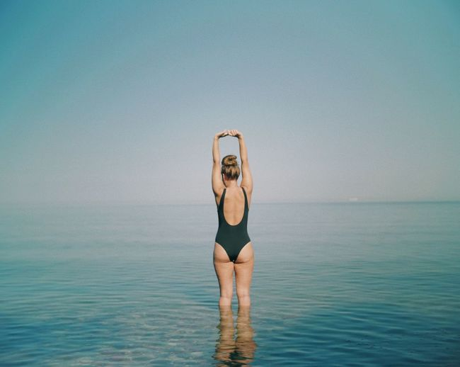 💦 Blue Sky Blue Sea Blue Woman BestofEyeEm Eyeemmarket Gotland, Sweden Water One Person Sea Lifestyles Holiday Sky Nature Vacations Trip Adult Young Adult Healthy Lifestyle Women Beauty In Nature Outdoors Beach Beautiful Woman
