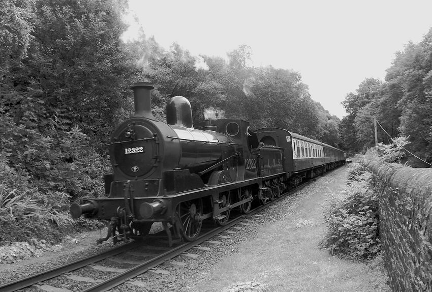 Steam Locomotive A Classic Summerseat 15.7.16