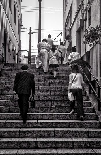 Black&white Stone Steps