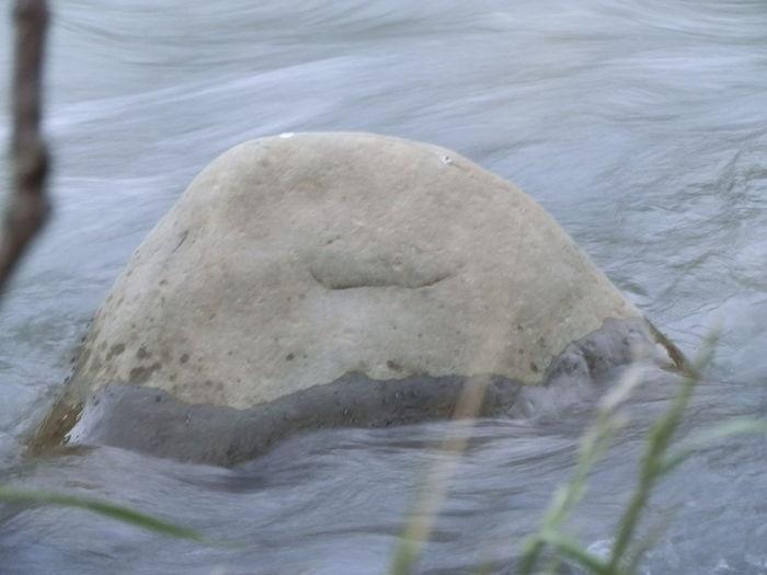 камень рожица улыбка каменный смайлик