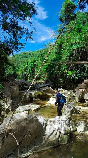 Nature Adventure SiraoPeak CebuCityPhilippines Bisaya Bisayatraveler Cebunature Cebu Budlaan Falls Cebutrekker