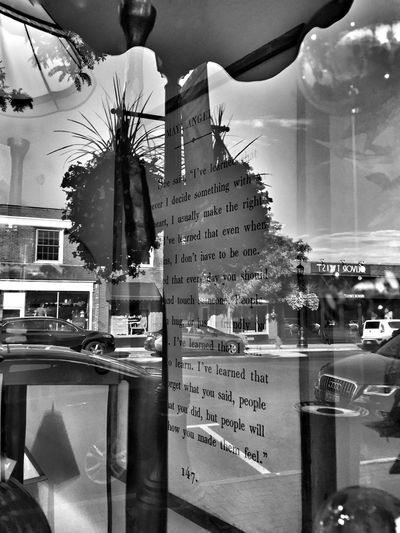 "Window Shopping"" Window Shopping Street Photography Maya Angelou Quotes Built Structure Glass - Material Transparent Indoors  Store City Reflection Business No People"