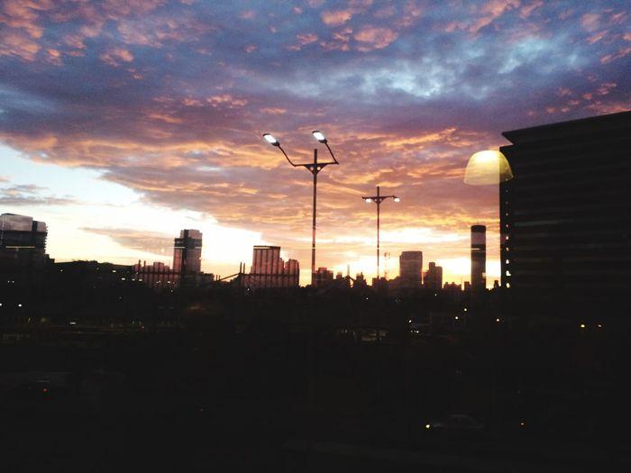 Sunrise Good Morning Work Gym