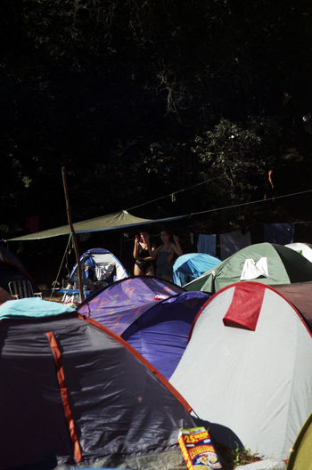 pdc'15 Camping Color Nature Outdoors Sunlight Tents
