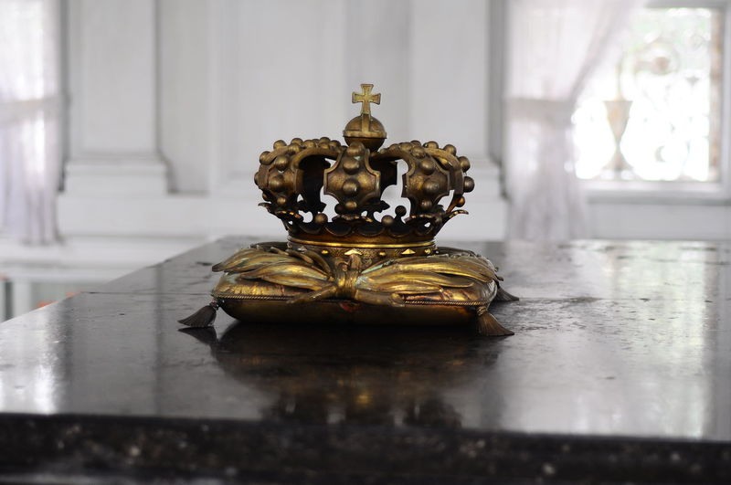 Close-up of crown