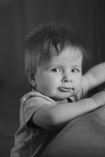 baby Childhood Baby One Person Sadness Innocence Babies Only People Portrait Child Indoors  Close-up Looking At Camera