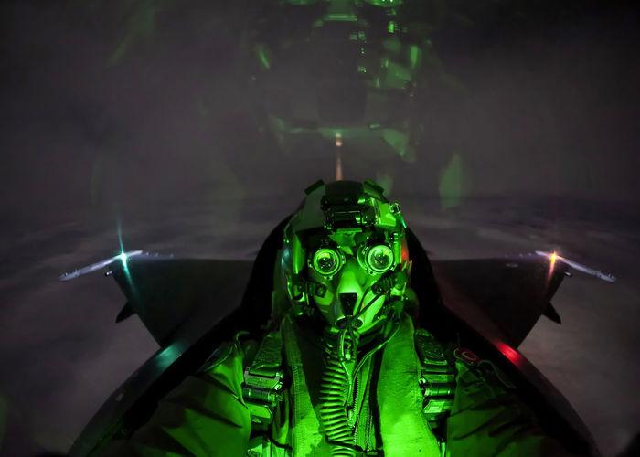 Turk Hava Kuvvetleri Turkish F16fightingfalcon F-16 Night Night Vision Alarm Reaksyon Air Aircraft Military Army Air Force