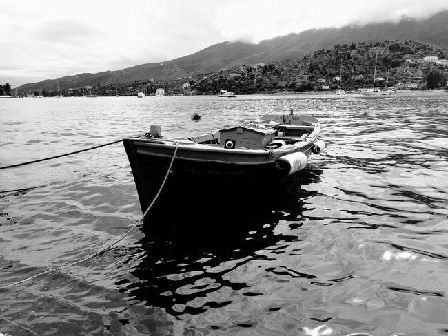 Boat on Poros Greece