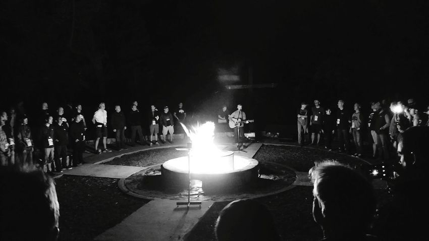 Large Group Of People Celebration People Crowd Audience Music Night Performance Illuminated Adult Prayers Redemption ForestHill Mancamp17 Salvation Mountain TheCross 400 Blackandwhite Photography Shadows & Lights Enhance Exposure Prayertime Walking Around Leaves🌿 Asthetics
