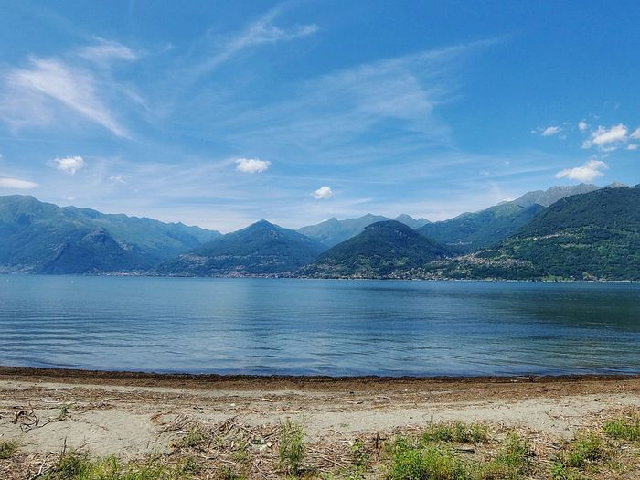 This was the view I had at the very end of the trip 😄 Colico Lago Di Como Lake Como Mountains Mountain Lake Lombardia Velvia Fujifilm The Great Outdoors - 2015 EyeEm Awards