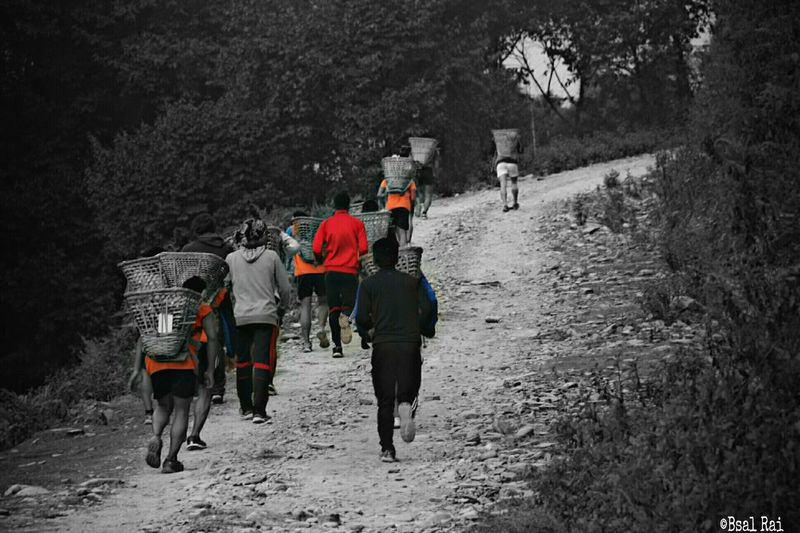 Adventure Club @Nepal Pokhara During British Army Near British Camp , Selection Training Session 5-6 KM Hill Run Carrying 27 KG Weight One of the Toughestrace in my Life . . . 💪💪💪💪