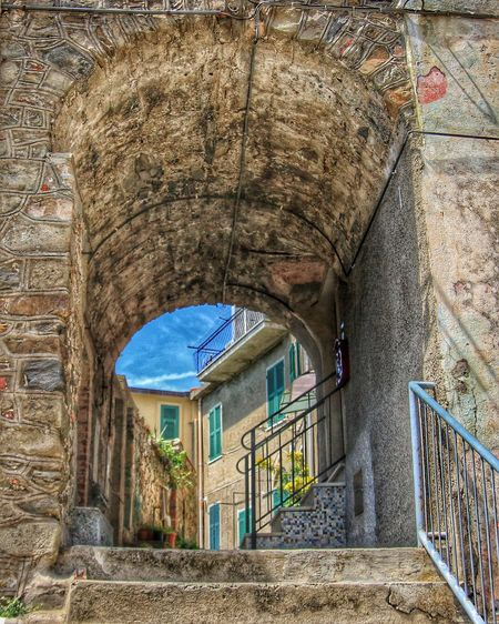 Cinque Terre Italy Italia Gate Stairs Old Buildings Old Town Summer From My Point Of View Tranquility Traveling Hiking Vacation Summer2015 Liguria Bella Italia New Talents New Talent
